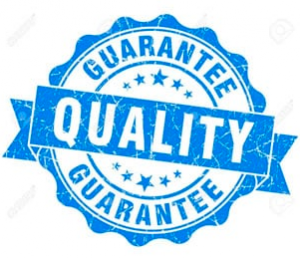 We Guarantee Quality